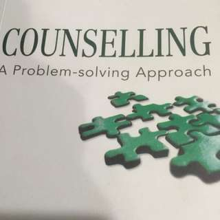 Counselling A Problem Solving Approach