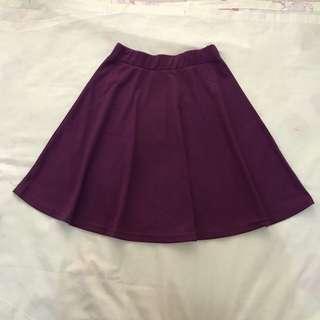 (New) Rok flare skirt ungu