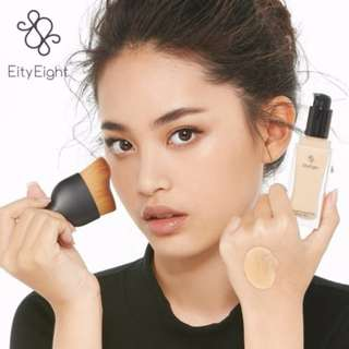 Ver.88 Liquid Foundation SPF 30 PA +++ Curved Face Brush
