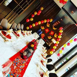 Balloon deco for private function private events