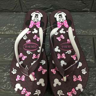 New arrival Minnie Mouse slipper Size 35-39