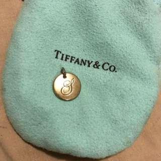 Tiffany & Co silver 's' pendant