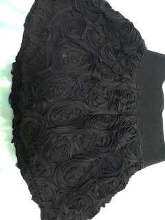 Rose design skirt