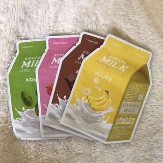 A'pieu Milk One Pack Sheet Masks