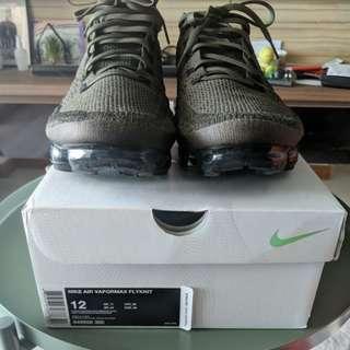 Nike air vapormax flyknit olive khaki