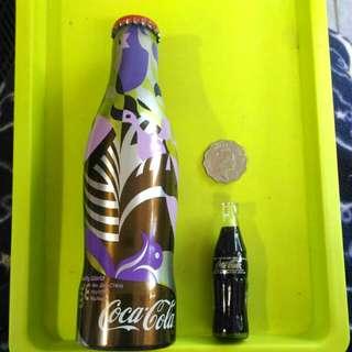 2003年 鋁樽 特別版 可口可樂 COKA COLA 西班牙製造 + 連迷你版 玻璃樽