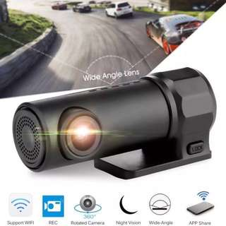 Car Camera - Wifi Mini, DVR View/Record, Link to Phone App