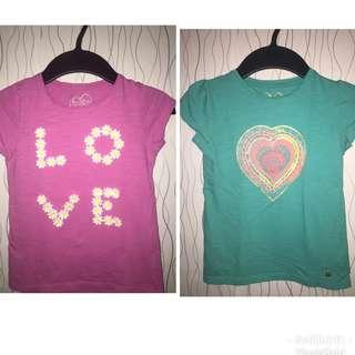 Mothercare shirts (2pcs)