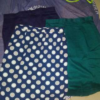 Pencil skirt 3in1