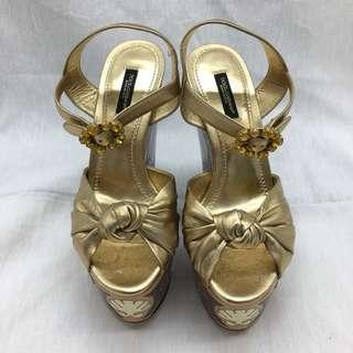 GO 2 BRAND💯100%真貨 - DOLCE & GABBANA (D&G) 涼鞋👡