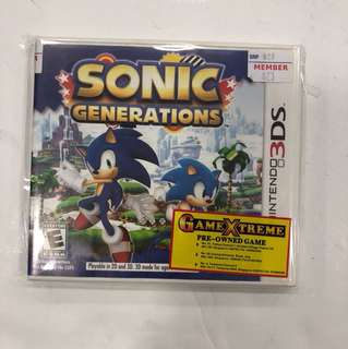 Nintendo 3DS Preowned Sonic Generations