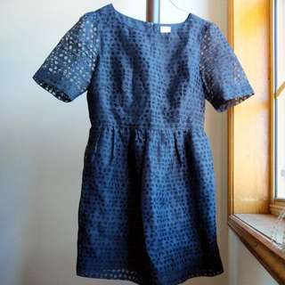 Gorman Marrakesh Dress in Navy 10
