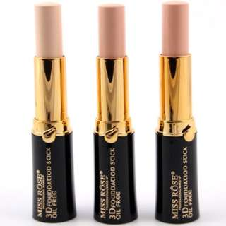 MISS ROSE 3D FOUNDATION STICK OIL FREE