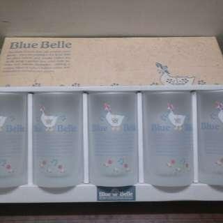 Bluebella一套五個磨砂玻璃杯