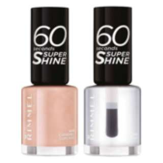 Rimmel 60 Seconds Nail Polish (pack of 2's)