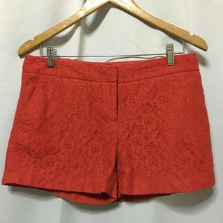 Red Lace Shorts from U.S. 🇺🇸❤