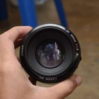 Canon EF 24mm 2.8 + Canon EF 50mm 1.8 + Zhongyi 35mm f/2