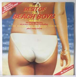 The Beach Boys ‎– The Very Best Of...Volume 2 (1983 South Africa Pressing - Vinyl is Mint BUT comes in sleeve for Volume 1)