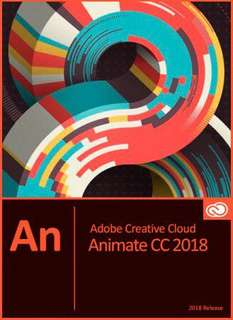 Adobe Animate CC 2018 (Win/Mac)