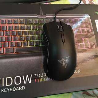 Razer blackwindow tournament edition mice and keyboard
