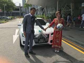 Best wedding white car