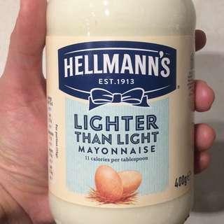Hallmanns Lighter Than Light 蛋黃醬