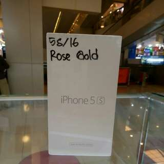 Iphone 5S 16Gb Rosegold Gold Gray