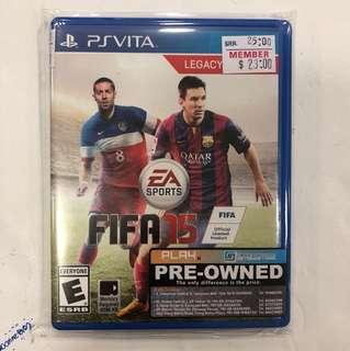 Sony Psvita Preowned Fifa 15