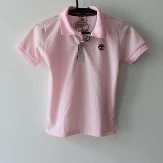 Timberland Pink Polo Tee