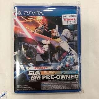 Sony Psvita Preowned Gundam Breaker 2