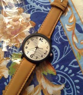 REPRICED!!! Eco leather watches for men and women