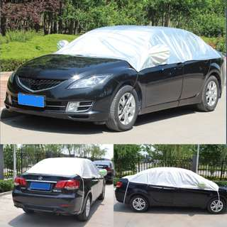 Car Sunshade Cover Rain Cover for Sedan Car