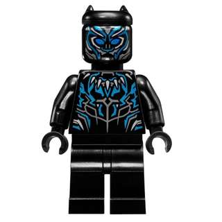 LEGO Minifigure - Super Heroes 76099 - Black Panther (NEW)