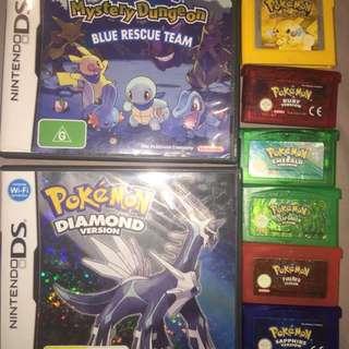 Pokémon Rare Nintendo Ds And Gameboy Games