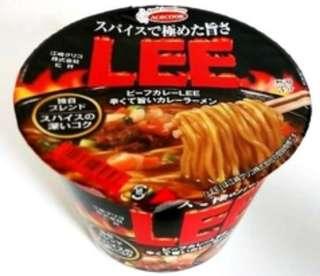 日本LEE 杯麵