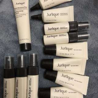 Jurlique 13件set cream 玫瑰水 潤唇膏