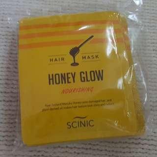 SCINIC Hair Mask Honey Glow Mask Sachet