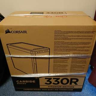 全新CORSAIR 330R Titanium Edition機箱