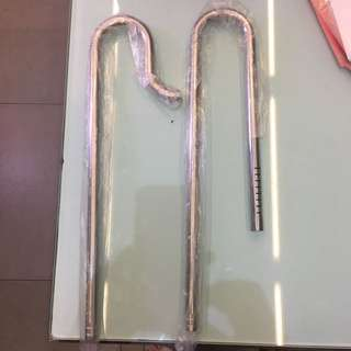 17mm stainless steel inlet and outlet pipe