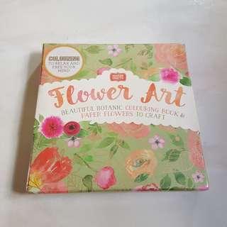 ⛤ BNIB Flower Art