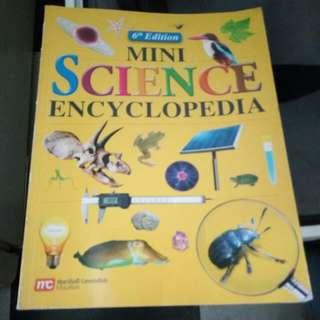 Preloved Mini Science Encyclopedia