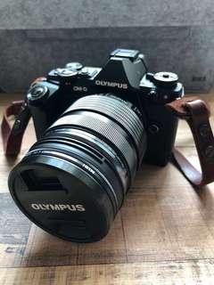 Olympus OM-D E-M5 Mark ii + 12-40mm PRO lens + HLD-8G grip
