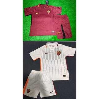 17/18 AS Roma kids jersey