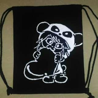 KS Canvas String Bag
