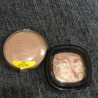 Bronzer And Highlighter
