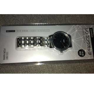 Miniso Japan Stainless Steel Watch Brand New Sealed