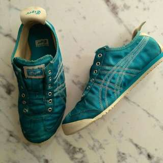 Onitsuka Tiger Mexico 66 Slip on blue shoes