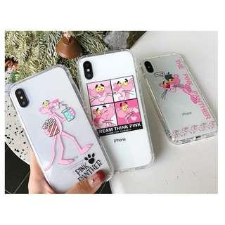 手機殼IPhone6/7/8/plus/X : The Pink Panther傻豹