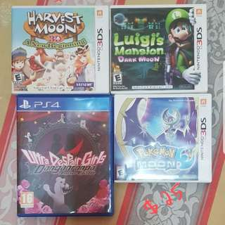 Selling Used Nintendo New 3DS XL Games
