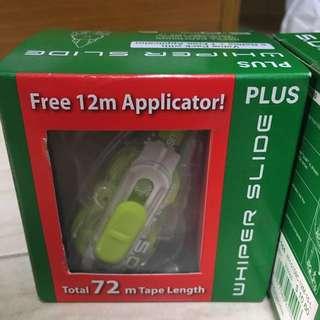 WHIPER SLIDE 5.0mm*12m 6 pc refills+ applicator